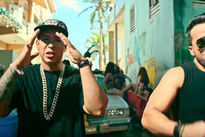 luis fonsi and daddy yankee's despacito is the most-streamed track of all time
