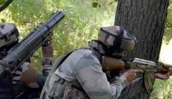 pakistan again resort to heavy firing & shelling along loc in j&k