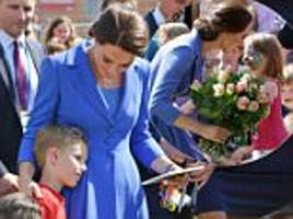 kate middleton visits children's charity in berlin