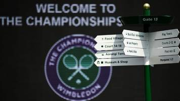 wimbledon & french open matches to be investigated