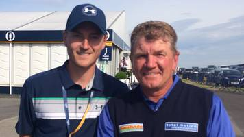 The Open 2017: Paul Broadhurst back at Royal Birkdale with son Sam as caddie