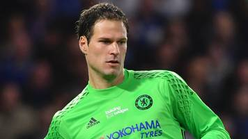 asmir begovic: bournemouth goalkeeper on howe, conte and life at chelsea