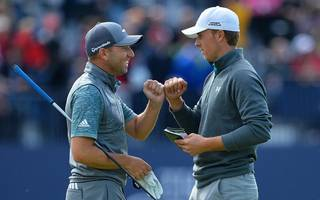 the open betting: side with speith and sergio over below par rivals
