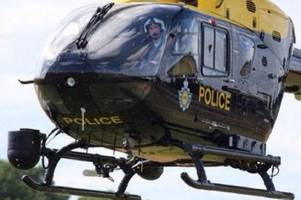 police hunt car and driver after hartcliffe collision involving woman and a separate assault in knowle