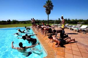 behind the scenes at bristol rovers training camp in portugal