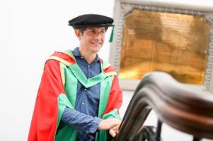sexy beast director handed honorary degree by nottingham trent