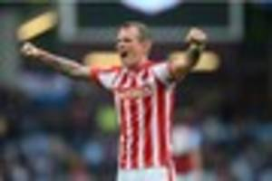 stoke transfer news: glenn whelan heading for aston villa medical...