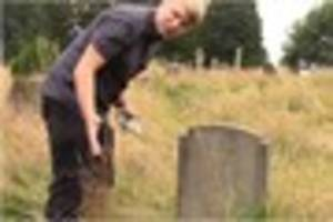 """Tiverton cemetery """"worst it has ever looked"""" as..."""