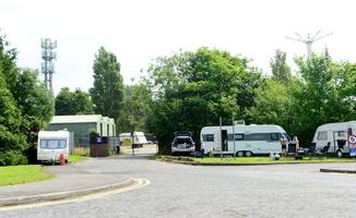 travellers pitch up outside former pleasure island site in cleethorpes
