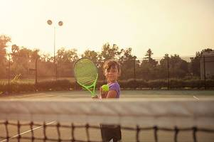 Kick off the summer school holidays with a free weekend of tennis