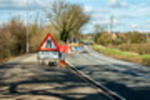 Roadworks causing havoc for commuters across Burton and South...