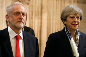 top stories from britain and around the world - may and corbyn in final commons showdown before summer break
