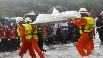 Myanmar plane: Bad weather blamed for Andaman Sea crash