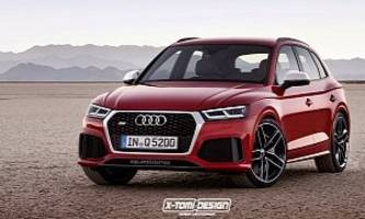 Audi RS Q5 SUV Will Borrow 2.9L Twin-Turbo V6 Engine from New Cayenne S and RS5