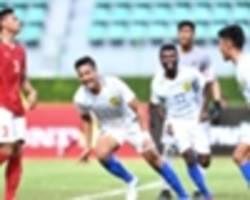 malaysia hands indonesia a beating to take top spot in group h