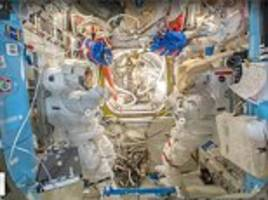 google street view features international space station