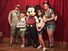 mickey mouse tells foster children they are adopted