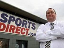 sports direct profits halve as pound plunge hits margins