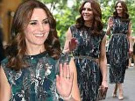 kate middleton dazzles at a party in berlin ballroom
