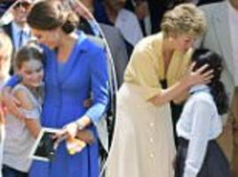 Kate Middleton is dubbed the new Diana by German media
