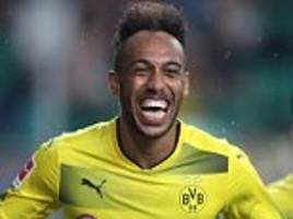 aubameyang staying at dortmund is good, says lewandowski