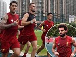 jurgen klopp impressed with mohamed salah's energy