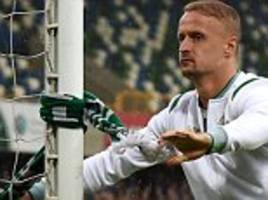 leigh griffiths banned for celtic clash with rosemborg