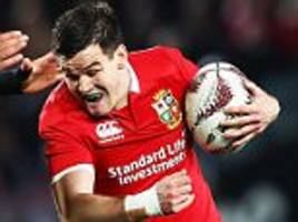 Lions Johnny Sexton played New Zealand with broken wrist