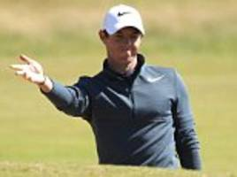 Rory McIlroy recovers well from horror start to The Open
