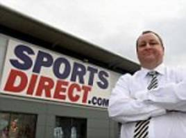sports direct profits slump 59 per cent after pound plunge