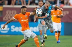 minnesota united's clash with houston ends in 0-0 tie