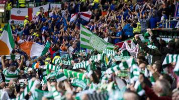 celtic face uefa charge over 'illicit banner' against linfield