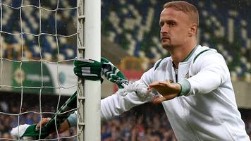 leigh griffiths: celtic striker banned by uefa for 'provoking spectators'