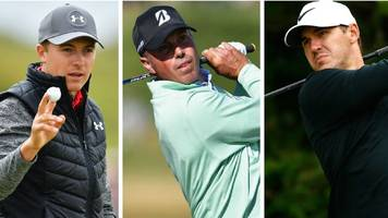 The Open 2017: Jordan Spieth, Brooks Koepka & Matt Kuchar tied for lead
