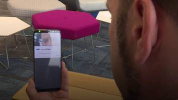 would using an eye scanner make mobile banking secure?