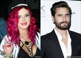 bella thorne is 'all over' scott disick during date night after denying they had sexual relationship