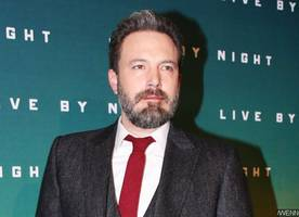 Ben Affleck and Lindsay Shookus Spotted Checking Out of NYC Hotel