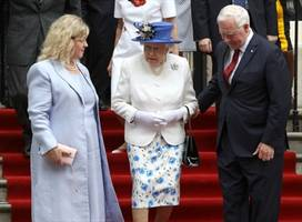 a top canadian official just committed a serious faux pas by touching queen elizabeth ii