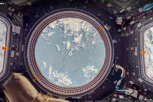 Google Street View lands on the International Space Station