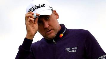 Watch Ian Poulter's best shots from his opening round at The Open