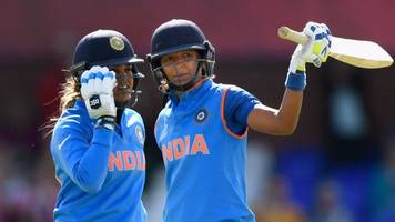 women's cricket world cup: harmanpreet kaur's superb innings inspires india