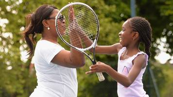Tennis participation levels in Britain have risen this summer, figures show