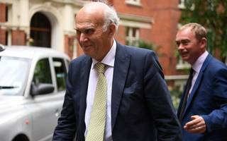 vince cable crowned liberal democrat leader after standing unopposed