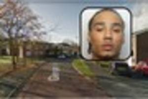 Jail for man who had 22-inch machete in Derby street then went on...