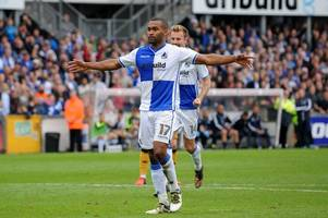 jermaine easter could line up against his former side bristol rovers over pre-season