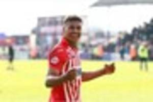 new brentford signing ollie watkins' top five moments at exeter...