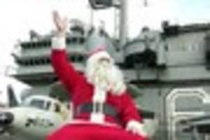 revealed: the secret mission to deliver christmas to gulf war...