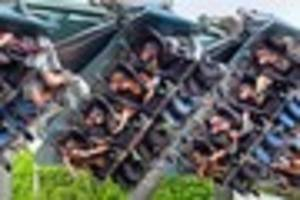 the frightening challenge that gets you into alton towers for...