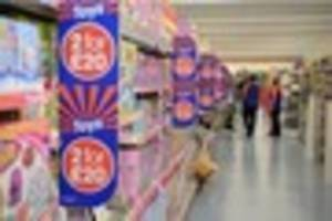 b&m are having a massive clearance sale in plymouth