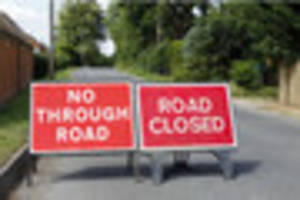 major road to be closed for up to eight weeks after water main...